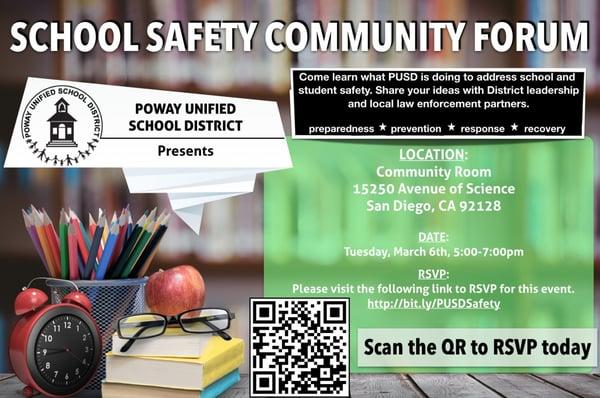 Poway Safety Flyer