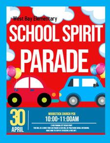 School Spirit Parade